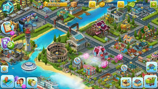 Migliori giochi gratis su Facebook: SuperCity
