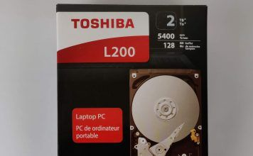 Toshiba L200 - confezione