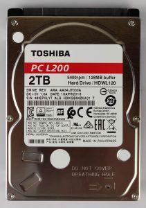 Toshiba L200 - fronte