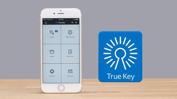 App per proteggere password: TrueKey