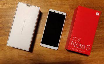 Xiaomi Redmi Note 5 - copertina