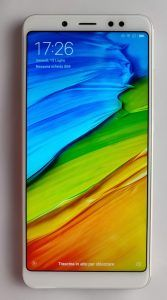 Xiaomi Redmi Note 5 schermo