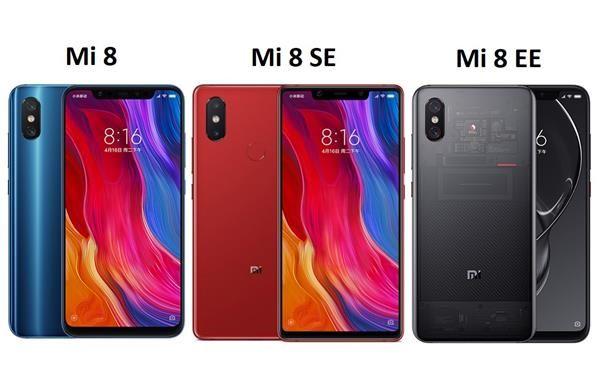 Confronto Xiaomi Mi 8: Prezzi