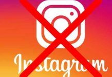 come eliminare un account instagram