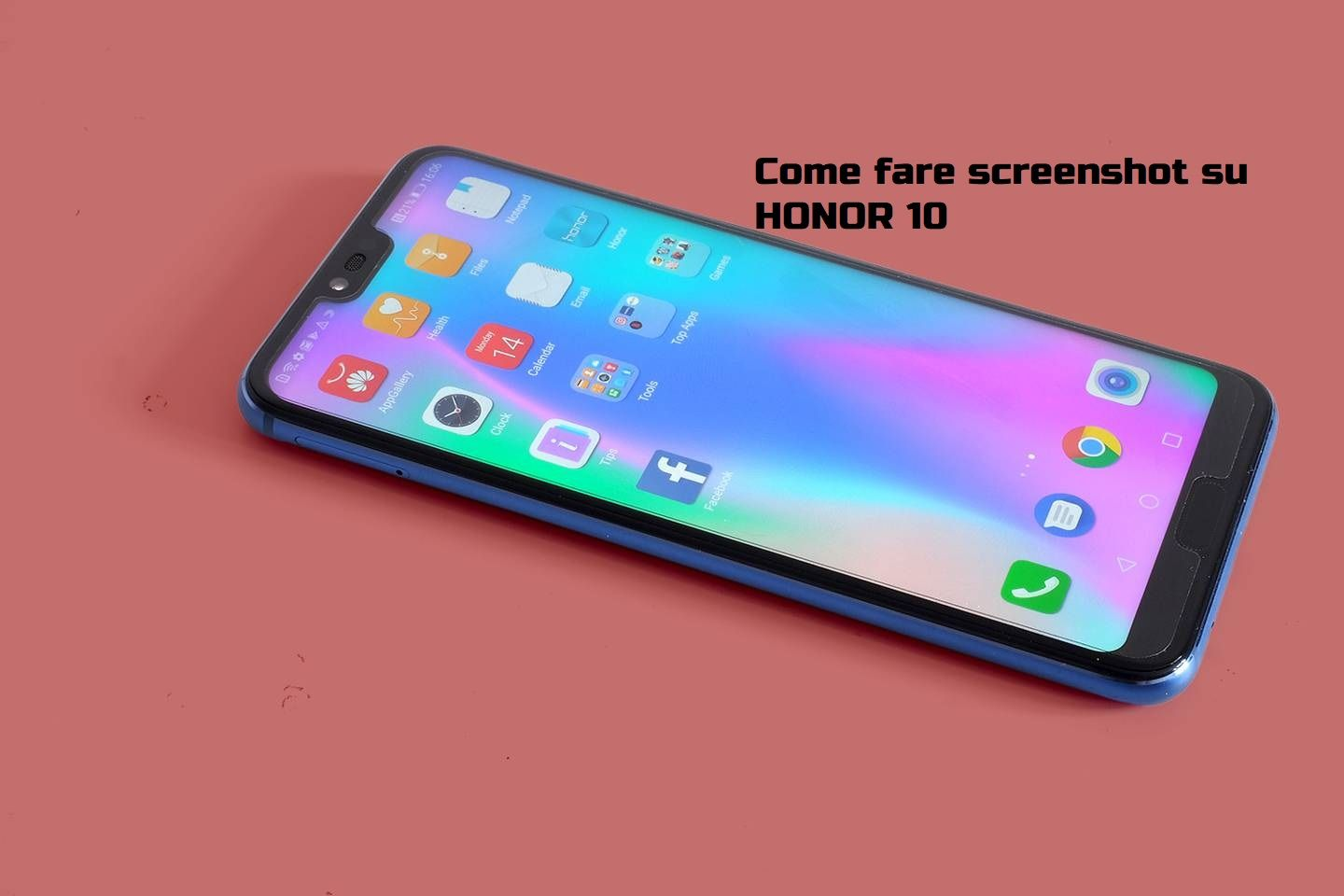 fare screenshot su Honor 10