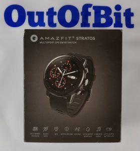 Amazfit Stratos - scatola