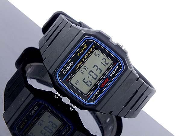 Migliori orologi stile retrò: Casio F91W-1