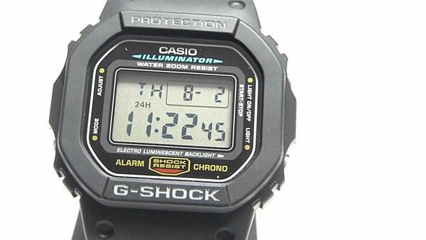 Migliori orologi stile retrò: Casio G-Shock DW5600E-1V