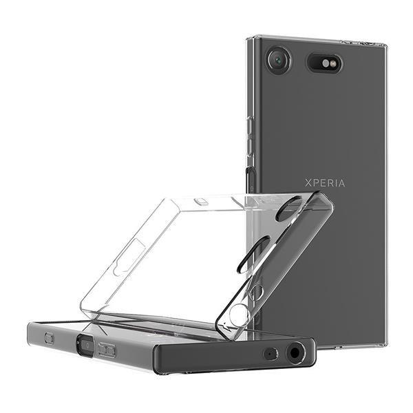 Migliori cover Sony Xperia XZ1: Cover AICEK in TPU trasparente