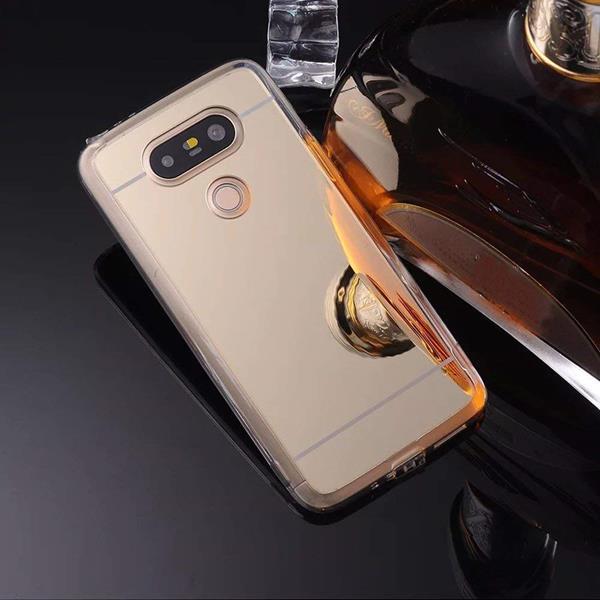 Migliori cover LG V20: Custodia JAWSEU con trattamento a specchio