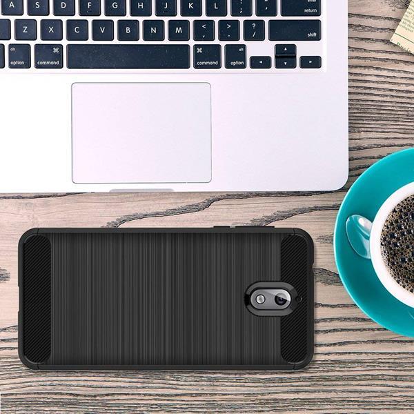 Migliori cover Nokia 3.1: Custodia L K in TPU antiscivolo