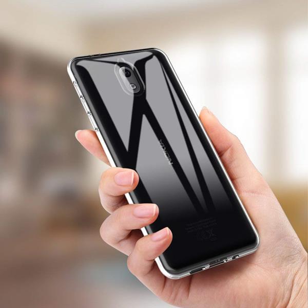 Migliori cover Nokia 3.1: Custodia L K in silicone antigraffio