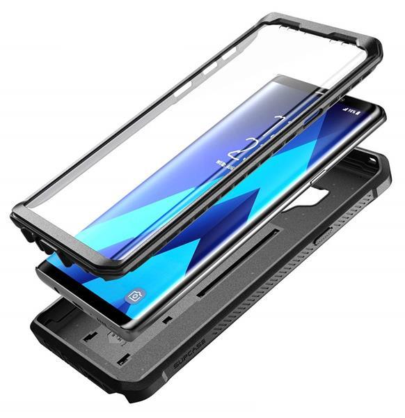 Migliori cover Samsung Galaxy Note 9: Custodia SUPCASE rigida con protezione dello schermo integrata
