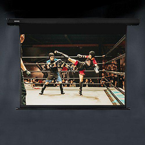 Migliori teli per vedere film e TV a casa: Telo da proiezione Duronic EPS70-43