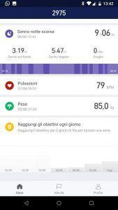 Xiaomi Mi Band 3 app 2