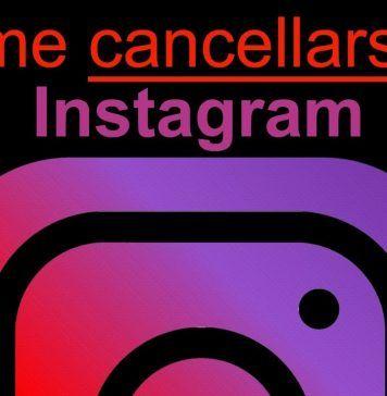 Come cancellarsi da Instagram