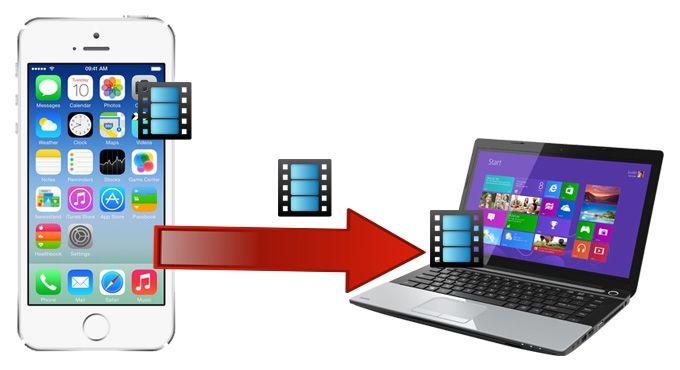 Come passare video da PC a iPhone