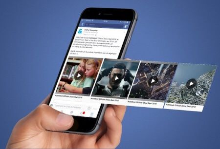 video da facebook su rullino iphone
