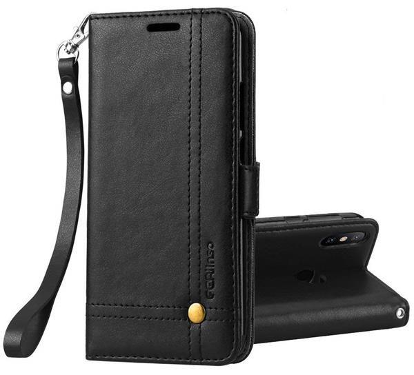 Miigliori cover Xiaomi Redmi S2: Custodia Ferilinso in pelle e chiusura magnetica