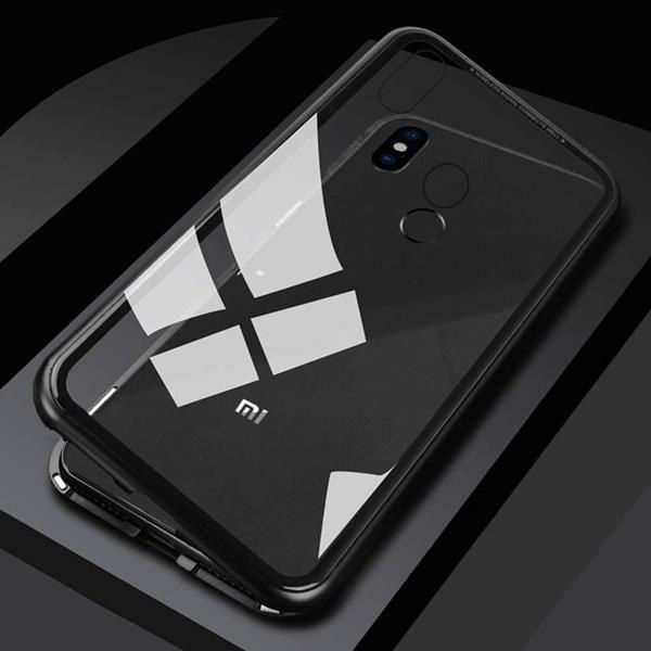 Migliori cover Xiaomi Mi 8: Custodia WindCase in alluminio e vetro temperato
