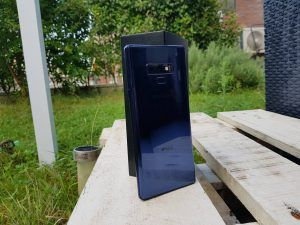 Recensione Samsung Galaxy Note 9 retro 3