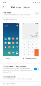 Recensione Xiaomi Mi 8 miui 10 gesture