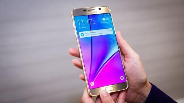 3 migliori smartphone per anziani: Samsung Galaxy Note 5