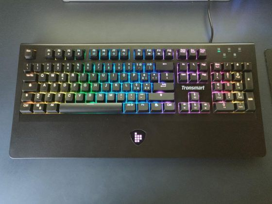 Tastiera Meccanica Gaming Tronsmart TK09R - colorazione rgb 1