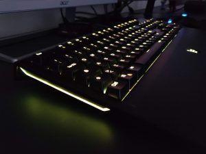 Tastiera Meccanica Gaming Tronsmart TK09R - retroilluminazione gialla