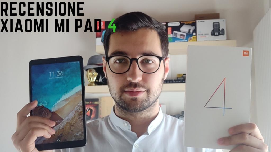 Xiaomi Mi Pad 4 recensione