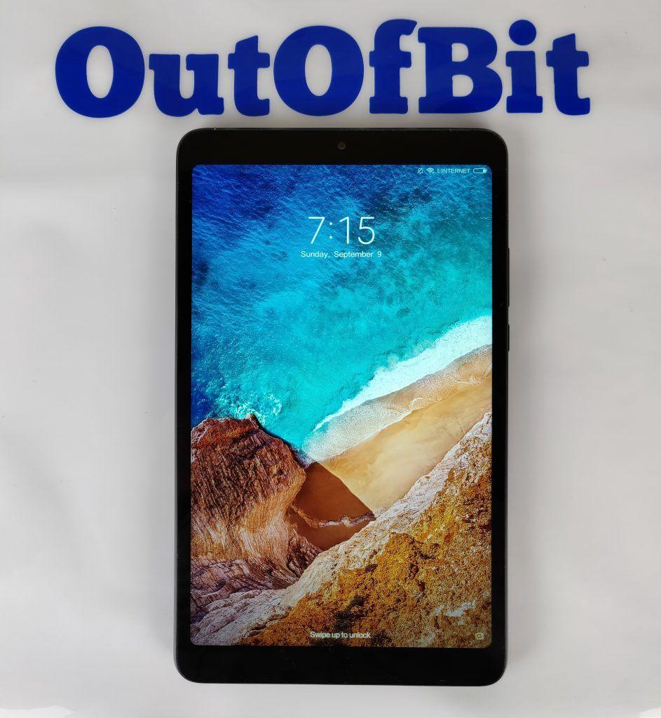 Xiaomi Mi Pad 4 schermo