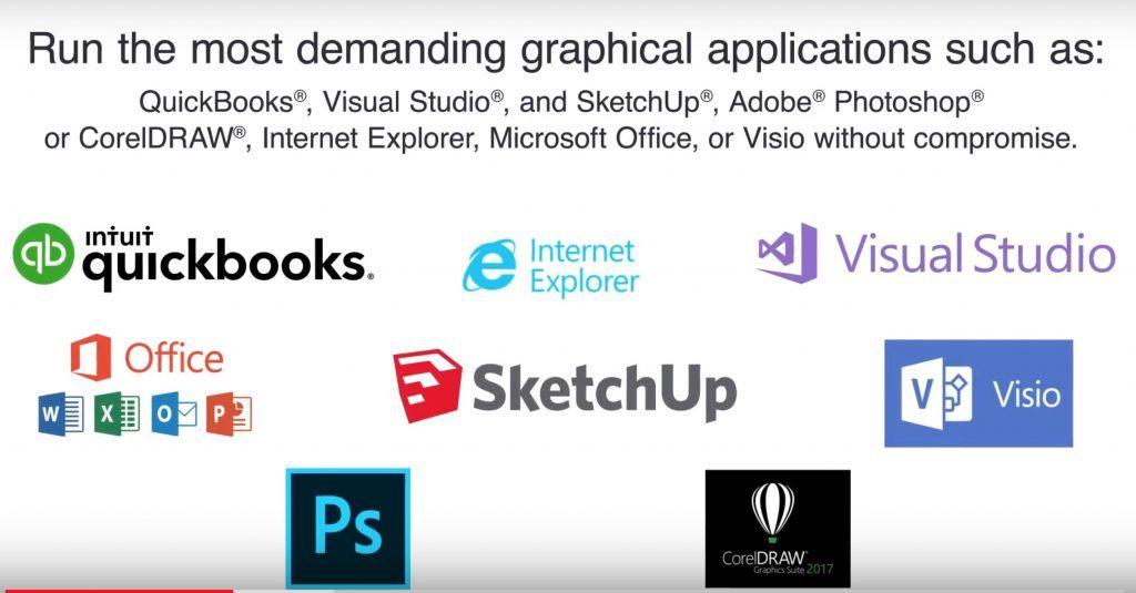 parallels desktop 14 supporta appieno moltissime nuove applicazioni