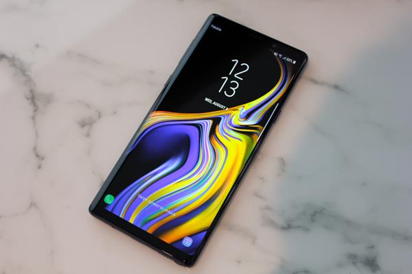 Gli screenshot su Note 9