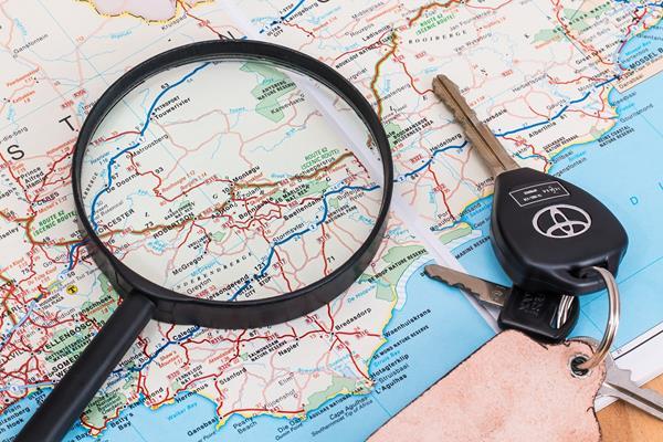 Come usare un tracker GPS