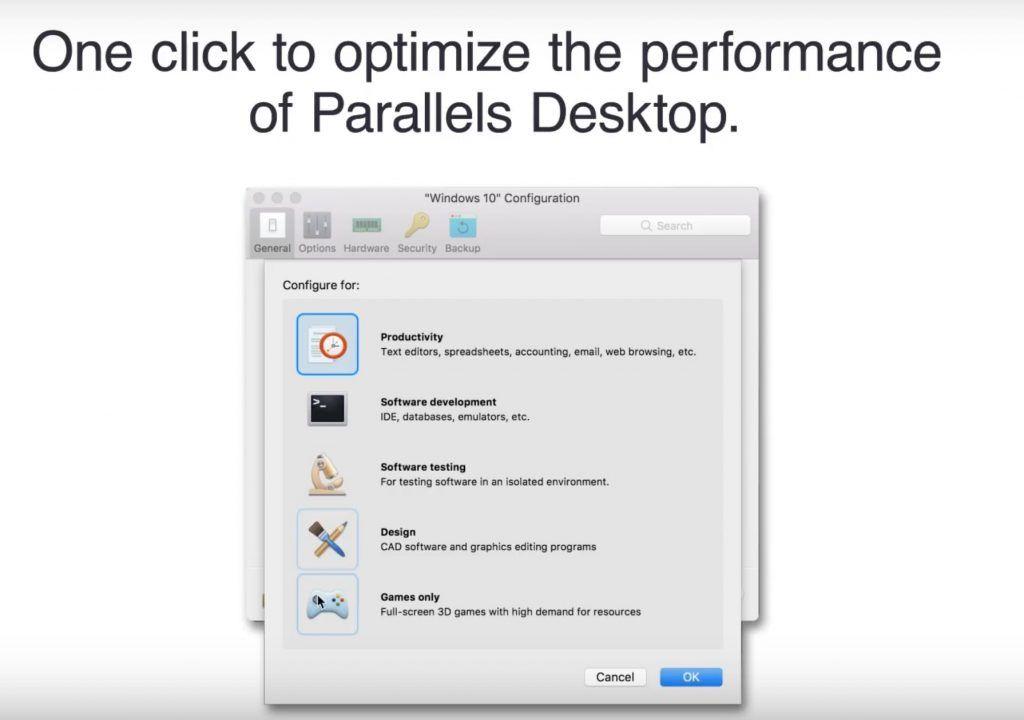 miglioramenti prestazioni introdotti in parallels desktop 14