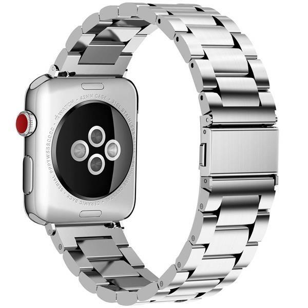 Migliori cinturini Apple Watch 4: Cinturino Fullmosa in acciaio inossidabile