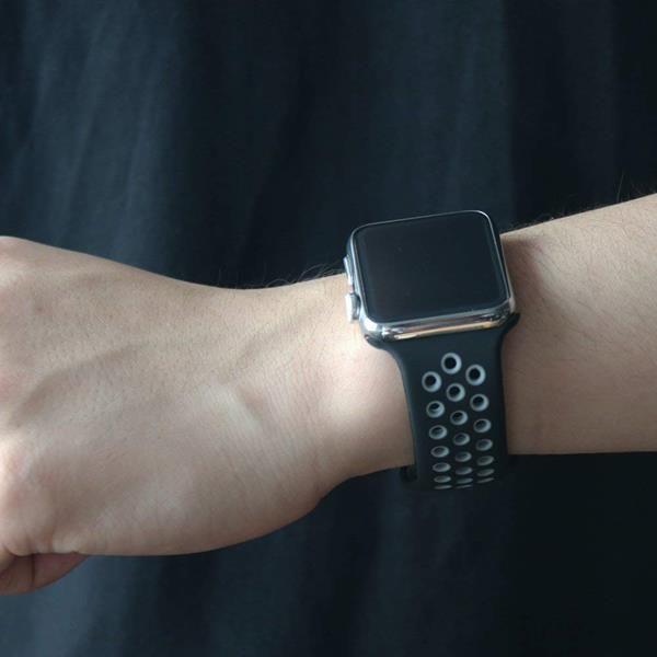 Migliori cinturini Apple Watch 4: Cinturino Vodker in silicone flessibile