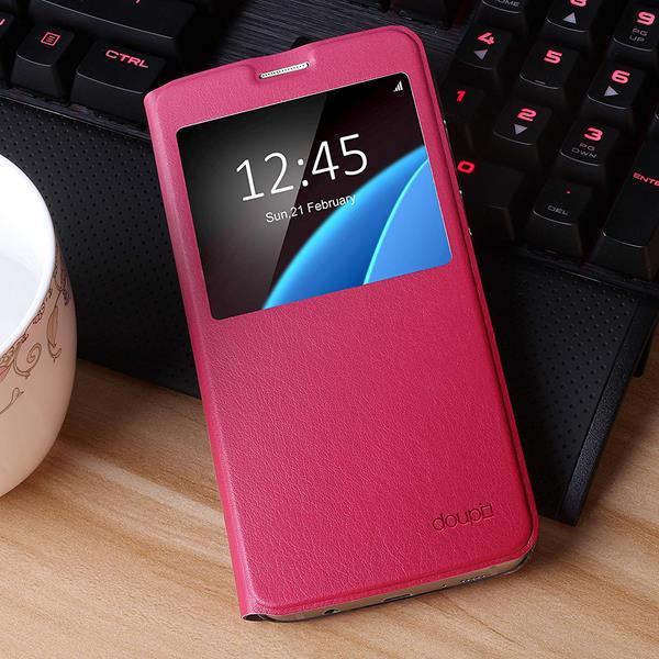 Migliori cover Samsung Galaxy S7: Custodia Doupi a libro con finestra