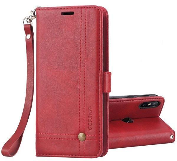 Migliori cover Xiaomi Mi A2 Lite: Custodia Ferilinso in pelle elegante