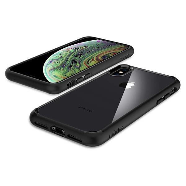 Migliori cover per iPhone XS: Custodia Spigen Ultra Hybrid