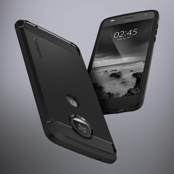 Migliori cover Lenovo Moto Z2 Play: Custodia Spigen con protezione in doppio strato