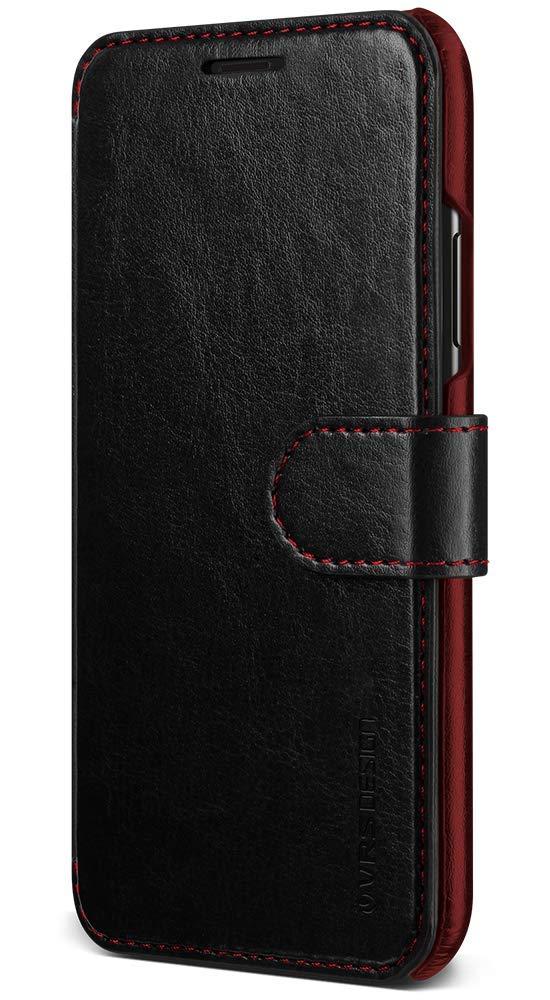 Migliori cover per iPhone XS Max: Custodia VRS Design con porta carte di credito