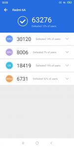 Xiaomi Redmi 6A antutu BenchMark -1
