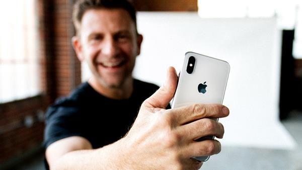 Selfie su iPhone: l'esposizione