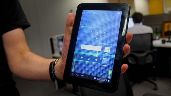 I tablet da 7 pollici