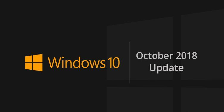 windows 10 october 2018
