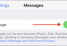 Come disattivare e disabilitare momentaneamente iMessage su iPhone o iPad