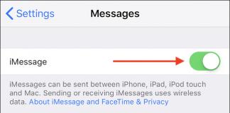 Come disattivare e disabilitare momentaneamente iMessage su iPhone o iPad