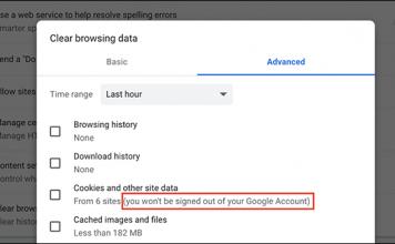 Come eliminare i cookie di Google in Chrome