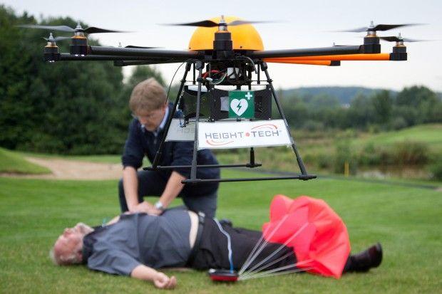 Come i droni stanno salvano la vita